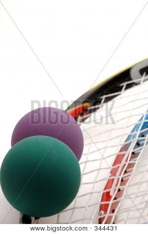 Raqueta pelota equipo 5