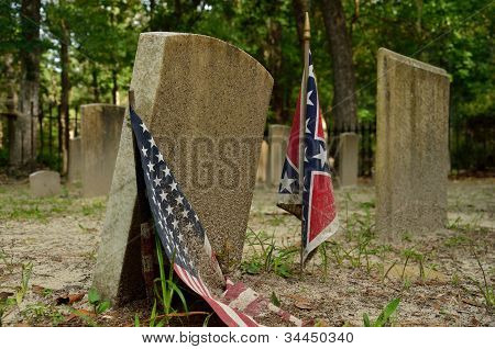 Confederate cemetery at Sunbury Georgia