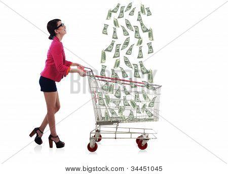 Lucky Businesswoman