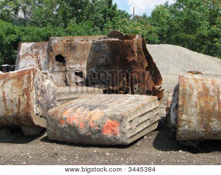 Former Steel Mill Excavation