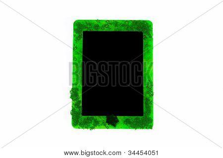 Tablet PC with black screen
