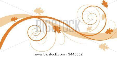 Herbst Blumen Hintergrund