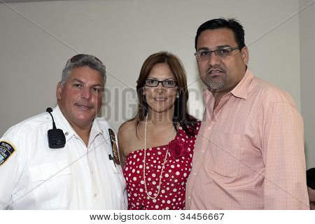 Mayor Of Guanica Puerto Rico With Marlyn Velazquez And Yomo Toro's Nephew