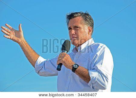 Mitt Romney em campanha