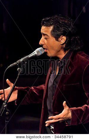 Juan Valderrama en concierto