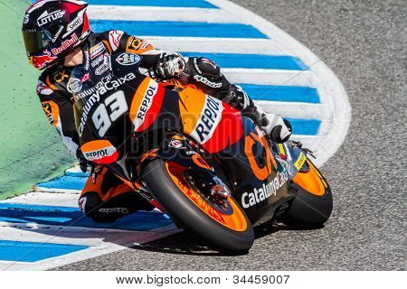 Marc Marquez Pilot Of Moto2  Of The Motogp