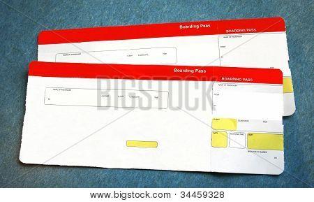 Tarjetas de embarque