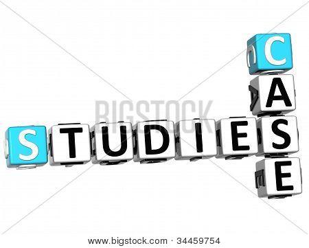 3D Case Studies Crossword