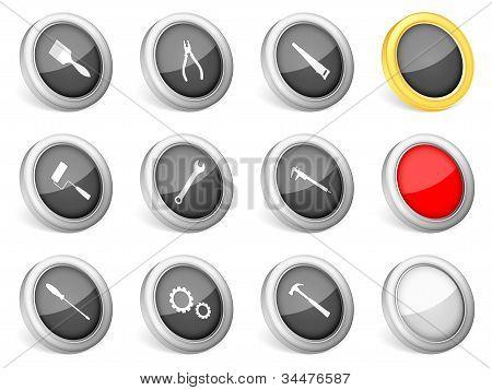 Herramientas 3D Icons