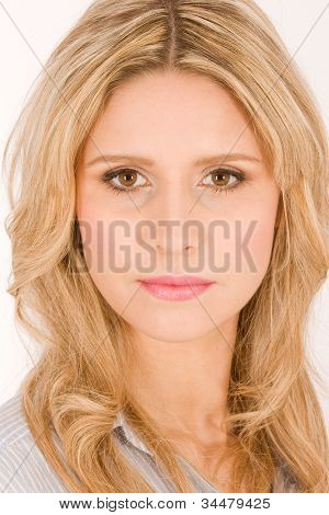 Portrait of beautiful blond women