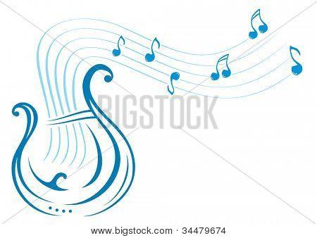 Lyre music