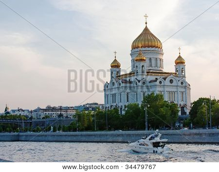 Cathedral Of Christ The Saviour,moscow,russia