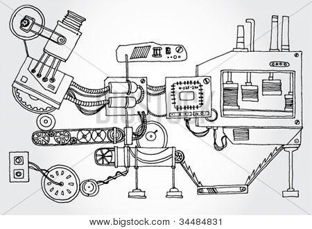 Algunos mecanismo mano Darwn