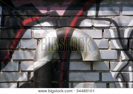 Ventilation with graffiti