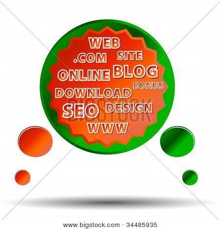 Cartel Web multicolor