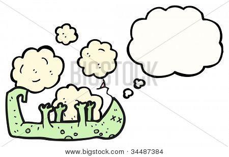 dead lizard cartoon