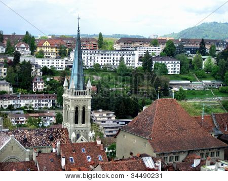 an image of old city in switzerland