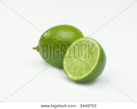 Lime And Sliced Lime