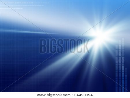 Blue Background - XL