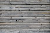 foto of wainscoting  - Closeup of vintage wood planks texture background - JPG