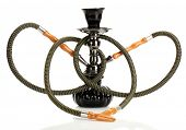 pic of shisha  - hookah isolated on white background - JPG