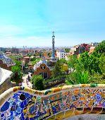 foto of gaudi barcelona  - Park - JPG