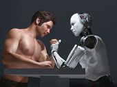 stock photo of robot  - human - JPG
