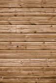 stock photo of wainscoting  - Detailed old wood striped planks texture background - JPG