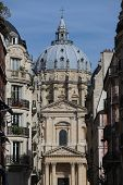 The Val De Grace Church At Sunny Day In Paris, France poster
