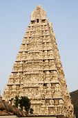 stock photo of chola  - This is the great temple of lord Shiva built by Chola kings - JPG