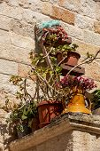 The Charming And Romantic Historic Old Town Of Polignano A Mare, Apulia, Southern Italy poster