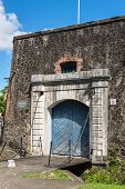 Gate To The Fort Saint Louis In Fort-de-france, Frances Caribbean Overseas Department Of Martinique poster