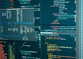 Administration Of Database For Software. Programmer Workflow. Database Scheme. Software Development poster