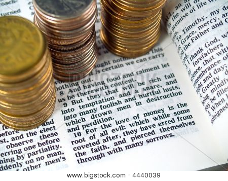 I Timothy 6:10 Love Of Money