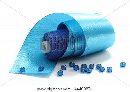Blue Tape And Blue Threads