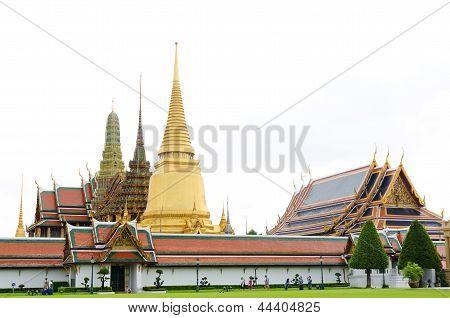 Temple Of Emerald Buddha, Bangkok
