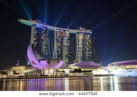 Laser Show In Singapore