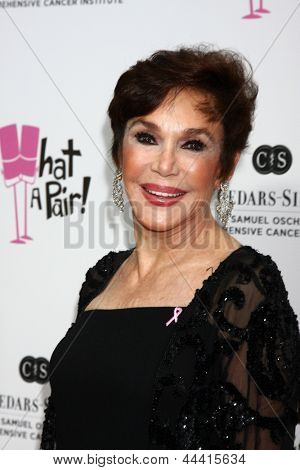 LOS ANGELES - APR 13:  Mary Ann Mobley arrives at the