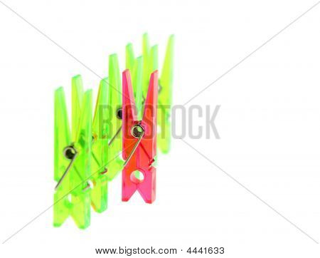Color A Clothespin