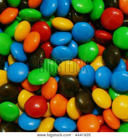 Bowl Of Colourful Candy