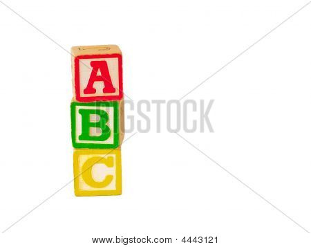 Abc Stacked Verticle
