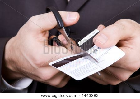 Bankruptcy - To Scissors A Credit Card