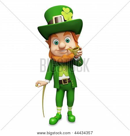 Leprechaun for st patrick's day