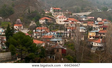 Mountain Village Of Phoini, Cyprus