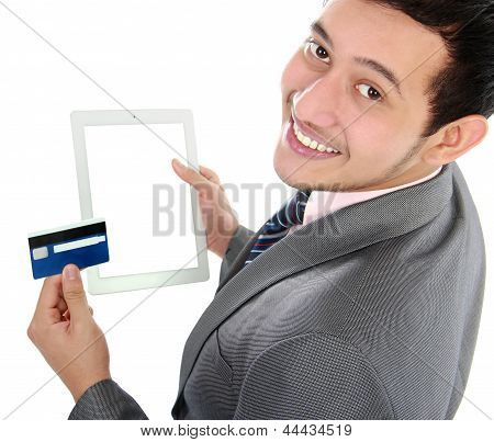 Online Shop With Tablet