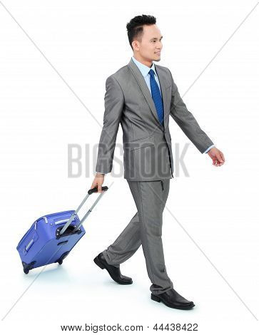 Man Going On A Business Trip