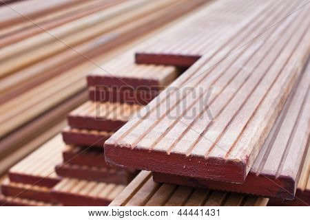 Stack Of Floorboards