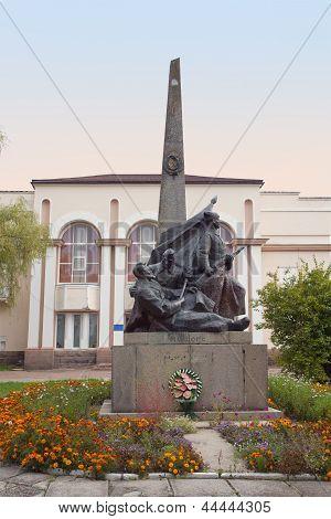 Nikolay Shors Monument In Korosten, Ukraine