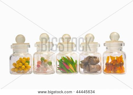 Mimic Of Food In Little Bottles