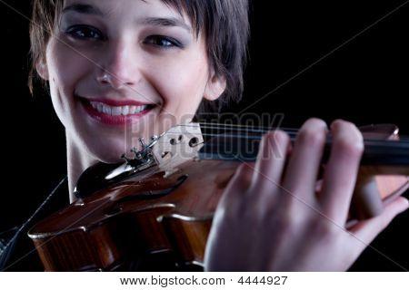 Classic Music Concept - Violin